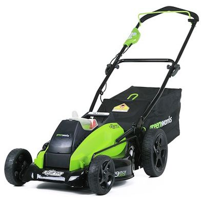 Cortacésped semiprofesional 40V GreenWorks