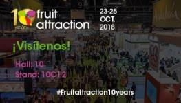 Visite nuestro stant en Fruit Attaction 2018